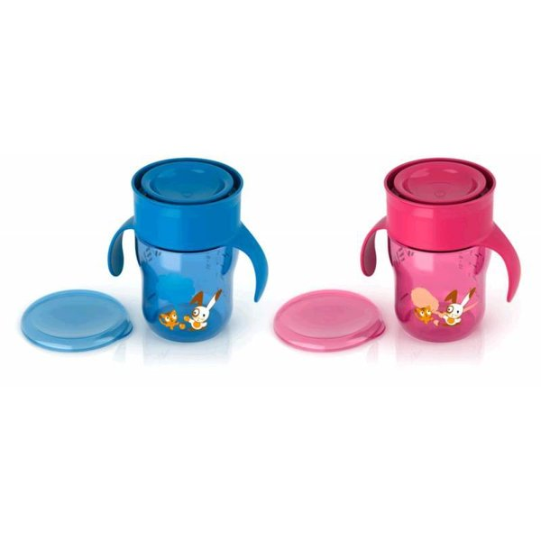Philips Avent Philips Avent Oefenbeker Rose/Blauw