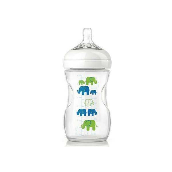 Philips Avent Philips Avent Zuigfles 260ml Olifant Mei