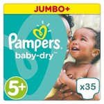 Pampers Pampers Baby Dry maat 5+