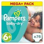 Pampers Pampers Baby Dry maat 6+