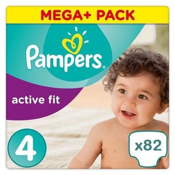 Pampers Active fit maat 4 - 82 luiers