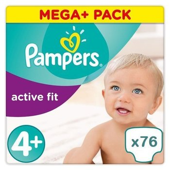 Pampers Active fit maat 4+ 76 luiers