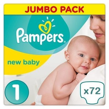 Pampers New Baby maat 1 Jaar Abonnement
