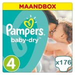 pampers Pampers Baby Dry maat 4 Jaar Abonnement