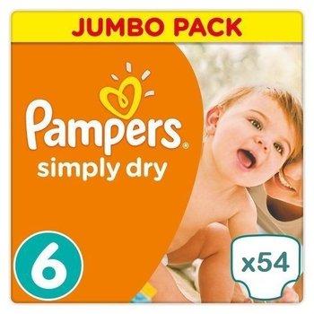 Pampers Simply Dry maat 6 - 54 luiers