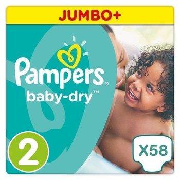 Pampers Baby Dry maat 2 - 58 luiers