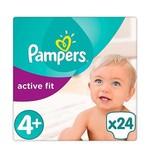 Pampers Pampers Active Fit maat 4+ - 24 luiers