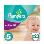 Pampers Pampers Active Fit maat 5 - 23 luiers