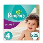 Pampers Pampers Active Fit maat 4 - 25 luiers