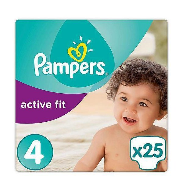 Pampers Pampers Active Fit maat 4 - 25 luiers