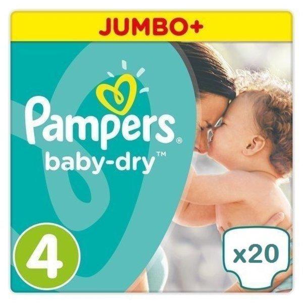 Pampers Pampers Baby Dry maat 4 - 20 luiers