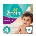 Pampers Pampers Active Fit maat 4 - 150 luiers