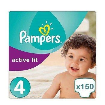 Pampers Active Fit maat 4 - 150 luiers