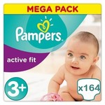 Pampers Pampers Active Fit maat 3+ - 164 luiers