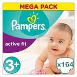 Pampers Pampers Active Fit maat 3+ - 164 luiers