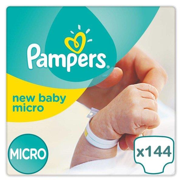 pampers Pampers New Baby maat 0 - 144 luiers