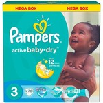 Pampers Pampers Active Baby Dry maat 3