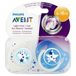 Philips Avent Philips Avent Fopspeen 6-18 mnd Night 2s