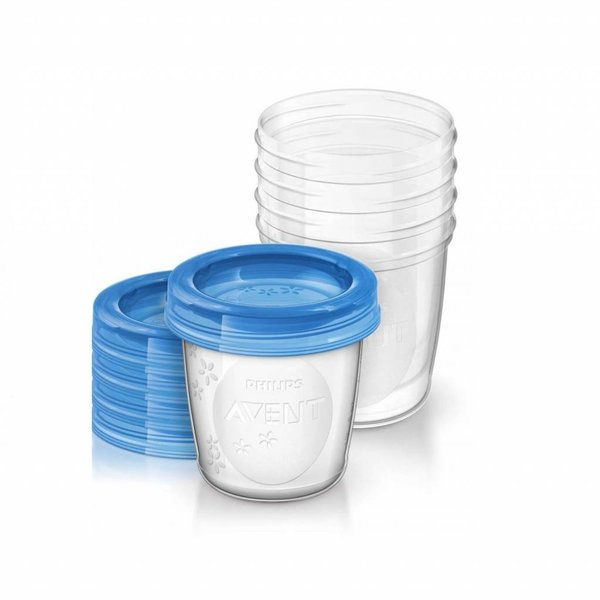 Philips Avent Philips Avent VIA Beker 180ml Moedermelk