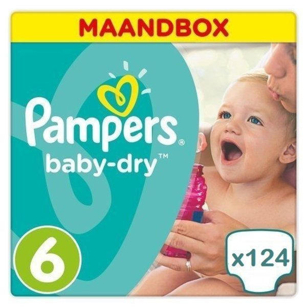pampers Pampers Baby Dry maat 6 Jaar Abonnement