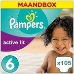 Pampers Pampers Active Fit maat 6 - 105 luiers