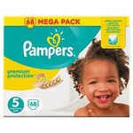Pampers Pampers Premium Protection maat  5 - 68 luiers