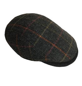 Indaco Fashion BJ Uomo Coppola Scotch flat cap