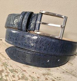 Bochicchio Cinture Bochicchio Cinture Stampa nahkavyö sininen