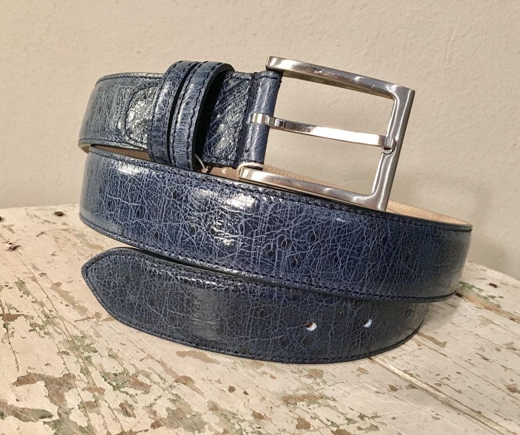 Bochicchio Cinture Stampa nahkavyö sininen
