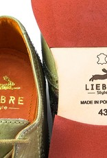 Liebre Style Shoes Rustic Olive India nahkakengät