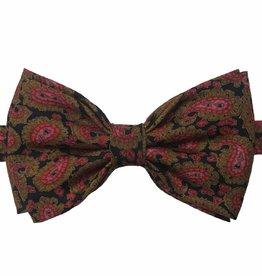 Papillon Miró rusetti musta punaisella kuviolla