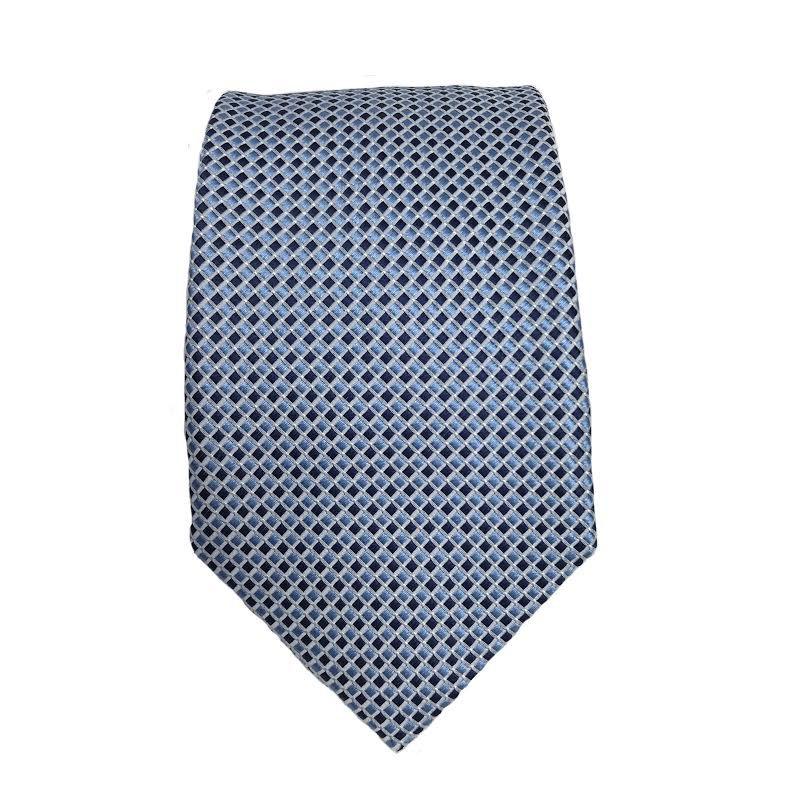 Piero Gianchi vaaleansininen kuvioitu solmio