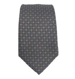 Piero Gianchi ruskea solmio sinisellä kuvioinnilla