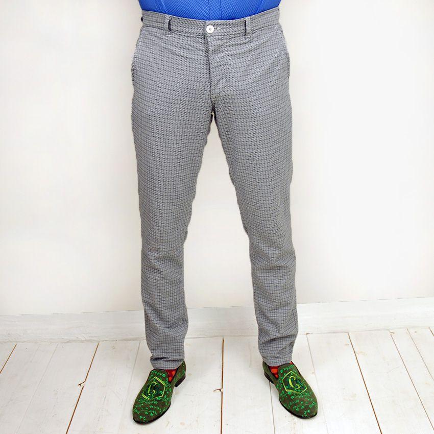 Mentore Grigio housut siniharmaa