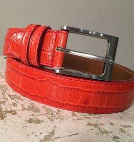Bochicchio Cinture Stampa punainen nahkavyö