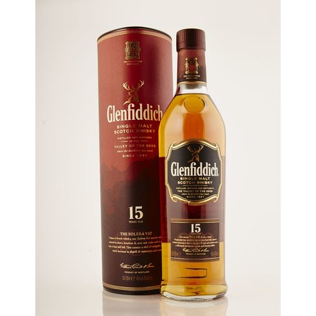 Glenfiddich 15 Year Old Solera, 40%