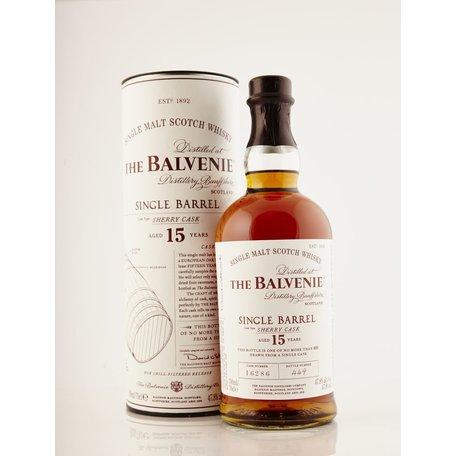 Balvenie 15 Year Old Single Barrel Sherry Cask, 47.8%