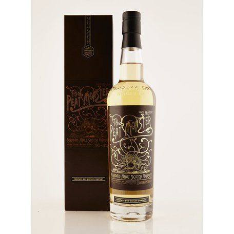 A peated blended malt from Compass Box. Wood and maritime peat smoke combine with notes of greengages and white pepper.