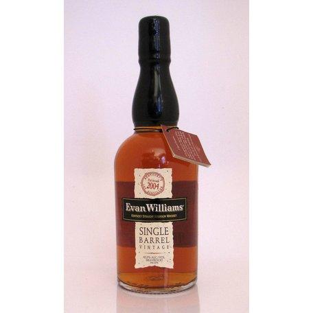 Evan Williams Single Barrel 2004 Vintage Bourbon, 43.3%