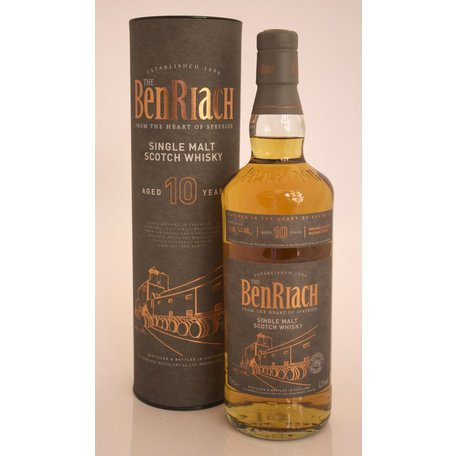 Benriach, 10 Years Old,= Unpeated, 43%
