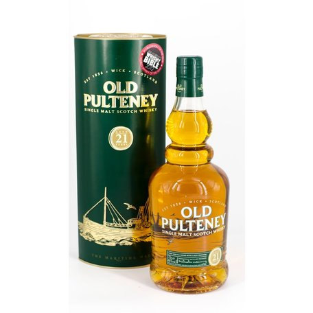Old Pulteney 21 Year Old, 46%