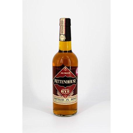 Rittenhouse 100 Proof Rye Whiskey, 50%