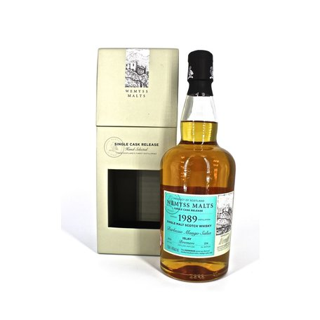 Bowmore 1989, 26 Year Old, BBQ Mango Salsa, Wemyss Malts,  46% 70cl
