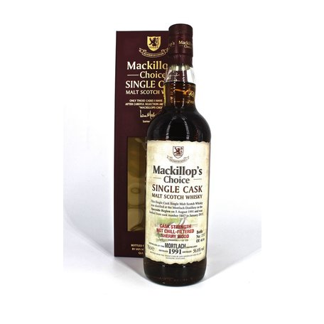 Mortlach 1991, 24 Year Old , Mackillop's Choice, 56.6%