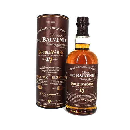 Double Matured in Whisky Oak and Sherry Oak