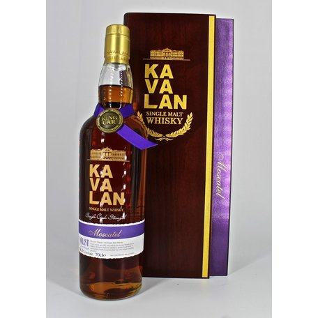 Kavalan Moscatel Single cask Cask Strength 56.3%