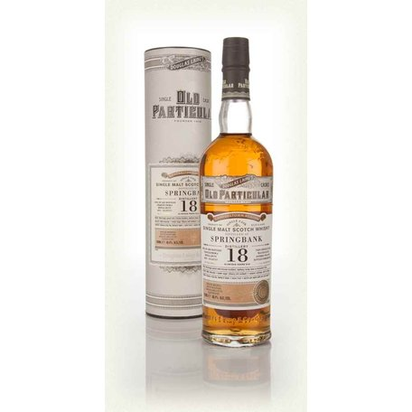 Springbank 18 Year Old, Old Particular, 1996, 48.4%