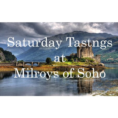 Introduction to Whisky SATURDAY 12th August 2017 ~ 3.00PM