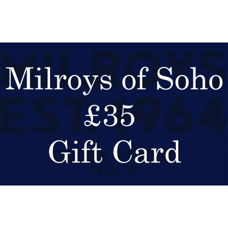 £35 Milroys of Soho Gift Card