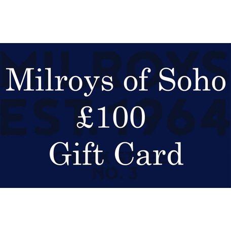 £100 Milroys of Soho Gift Card